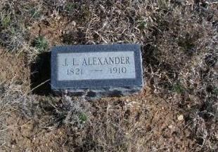 ALEXANDER, J. L. - Donley County, Texas | J. L. ALEXANDER - Texas Gravestone Photos