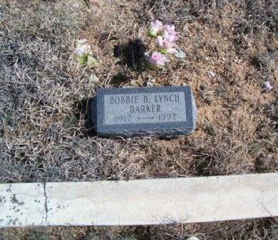 LYNCH BARKER, BOBBIE B. - Donley County, Texas | BOBBIE B. LYNCH BARKER - Texas Gravestone Photos