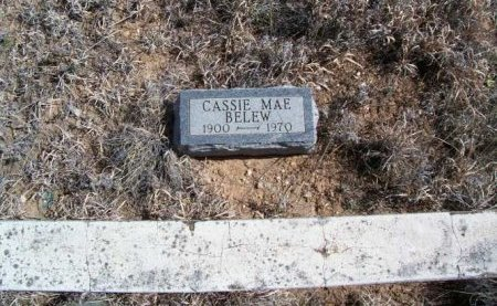 BELEW, CASSIE MAE - Donley County, Texas | CASSIE MAE BELEW - Texas Gravestone Photos