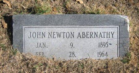 ABERNATHY, JOHN NEWTON - Eastland County, Texas | JOHN NEWTON ABERNATHY - Texas Gravestone Photos