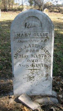 ABERNATHY, MARY OLLIE - Eastland County, Texas   MARY OLLIE ABERNATHY - Texas Gravestone Photos