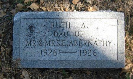 ABERNATHY, RUTH A. - Eastland County, Texas | RUTH A. ABERNATHY - Texas Gravestone Photos