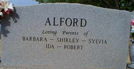 """ALFORD, R L """"DOC"""" (BACKVIEW) - Eastland County, Texas 