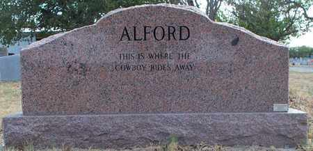 ALFORD, RONNIE (BACKVIEW) - Eastland County, Texas   RONNIE (BACKVIEW) ALFORD - Texas Gravestone Photos