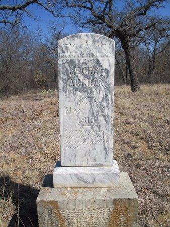 ARCHER, GEORGE - Eastland County, Texas   GEORGE ARCHER - Texas Gravestone Photos
