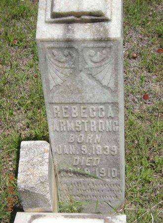 ARMSTRONG, REBECCA - Eastland County, Texas | REBECCA ARMSTRONG - Texas Gravestone Photos