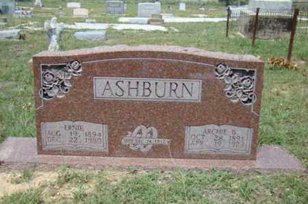 ASHBURN, ERNIE - Eastland County, Texas   ERNIE ASHBURN - Texas Gravestone Photos