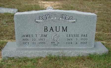 BAUM, LESSIE FAE - Eastland County, Texas | LESSIE FAE BAUM - Texas Gravestone Photos