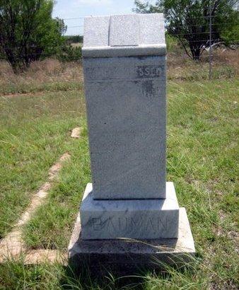 STARK BAUMAN, JOHANNA - Eastland County, Texas   JOHANNA STARK BAUMAN - Texas Gravestone Photos