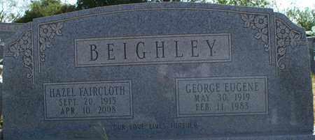 FAIRCLOTH BEIGHLEY, HAZEL - Eastland County, Texas   HAZEL FAIRCLOTH BEIGHLEY - Texas Gravestone Photos