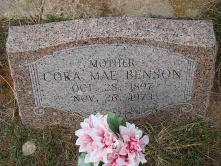 ROGERS BENSON, CORA MAE - Eastland County, Texas   CORA MAE ROGERS BENSON - Texas Gravestone Photos