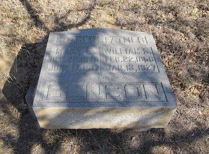 BROOMFIELD BENSON, MARY E - Eastland County, Texas   MARY E BROOMFIELD BENSON - Texas Gravestone Photos