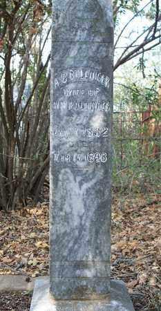 BOLLINGER, A C - Eastland County, Texas   A C BOLLINGER - Texas Gravestone Photos