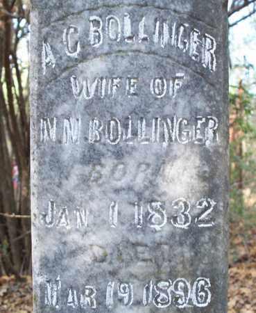 BOLLINGER, A C (CLOSEUP) - Eastland County, Texas | A C (CLOSEUP) BOLLINGER - Texas Gravestone Photos