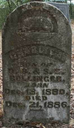 BOLLINGER, CHARLIE A - Eastland County, Texas   CHARLIE A BOLLINGER - Texas Gravestone Photos