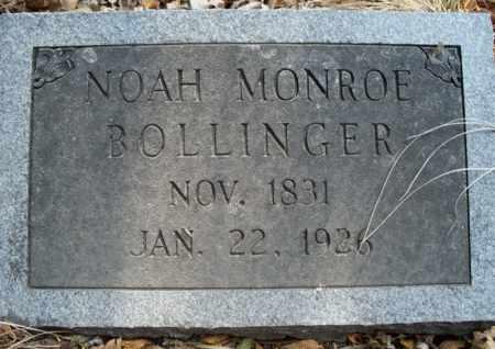 BOLLINGER, NOAH MONROE - Eastland County, Texas | NOAH MONROE BOLLINGER - Texas Gravestone Photos