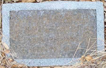 CHUBB BOLLINGER, SARAH ELIZABETH - Eastland County, Texas | SARAH ELIZABETH CHUBB BOLLINGER - Texas Gravestone Photos