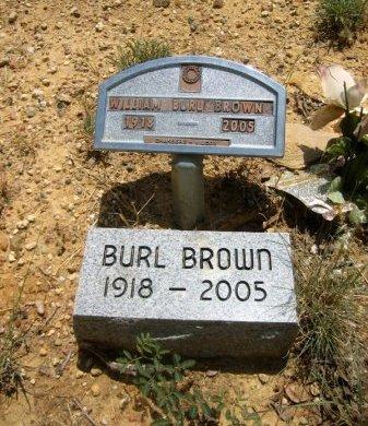 BROWN, WILLIAM BURL - Eastland County, Texas | WILLIAM BURL BROWN - Texas Gravestone Photos