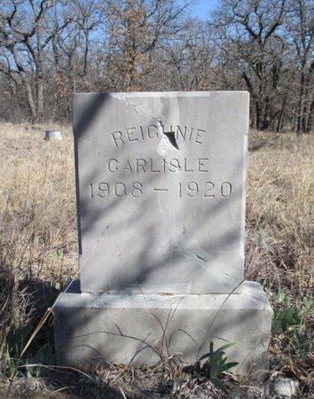CARLISLE, REIGHNIE - Eastland County, Texas | REIGHNIE CARLISLE - Texas Gravestone Photos