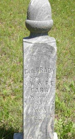 CARR, GEO. G. - Eastland County, Texas | GEO. G. CARR - Texas Gravestone Photos