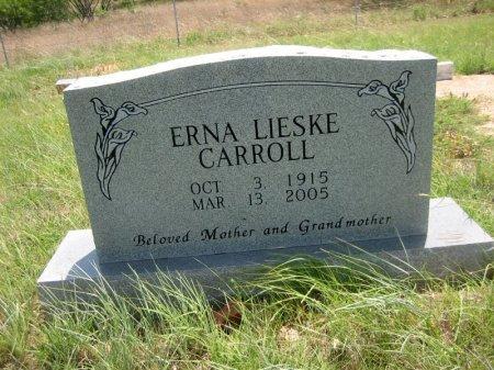 CARROLL, ERNA - Eastland County, Texas   ERNA CARROLL - Texas Gravestone Photos