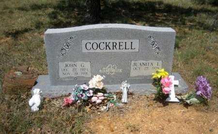 COCKRELL, JOHN G. - Eastland County, Texas   JOHN G. COCKRELL - Texas Gravestone Photos