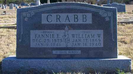 CRABB, FANNIE E - Eastland County, Texas | FANNIE E CRABB - Texas Gravestone Photos