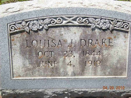 DRAKE, LOUISA J. - Eastland County, Texas | LOUISA J. DRAKE - Texas Gravestone Photos