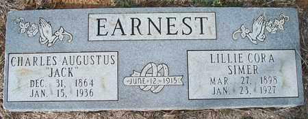 EARNEST, LILLIE CORA - Eastland County, Texas | LILLIE CORA EARNEST - Texas Gravestone Photos