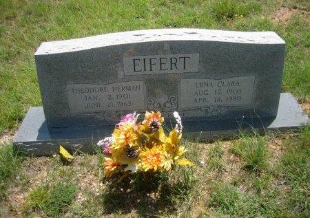 EIFERT, ERNA CLARA - Eastland County, Texas | ERNA CLARA EIFERT - Texas Gravestone Photos