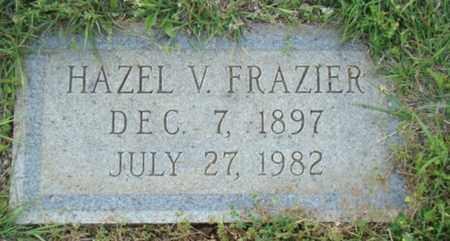 FRAZIER, HAZEL V - Eastland County, Texas | HAZEL V FRAZIER - Texas Gravestone Photos