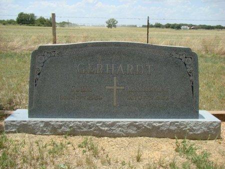 GERHARDT, JOHN - Eastland County, Texas | JOHN GERHARDT - Texas Gravestone Photos