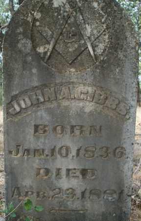 GIBBS, JOHN A - Eastland County, Texas | JOHN A GIBBS - Texas Gravestone Photos
