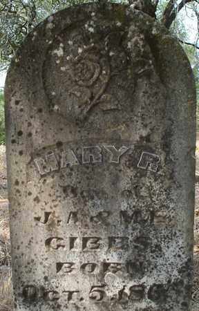 GIBBS, MARY R - Eastland County, Texas   MARY R GIBBS - Texas Gravestone Photos