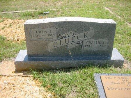GLUECK, HILDA - Eastland County, Texas | HILDA GLUECK - Texas Gravestone Photos