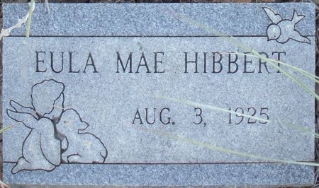 HIBBERT, EULA MAE - Eastland County, Texas | EULA MAE HIBBERT - Texas Gravestone Photos
