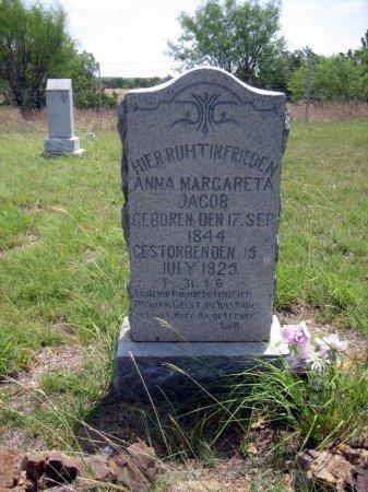 JACOB, ANNA MARGARETA - Eastland County, Texas | ANNA MARGARETA JACOB - Texas Gravestone Photos