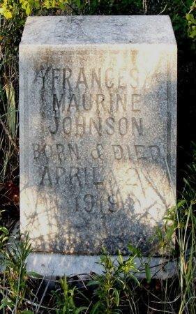 JOHNSON, FRANCES MAURINE - Eastland County, Texas   FRANCES MAURINE JOHNSON - Texas Gravestone Photos
