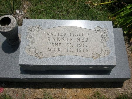 KANSTEINER, WALTER PHILLIP - Eastland County, Texas | WALTER PHILLIP KANSTEINER - Texas Gravestone Photos