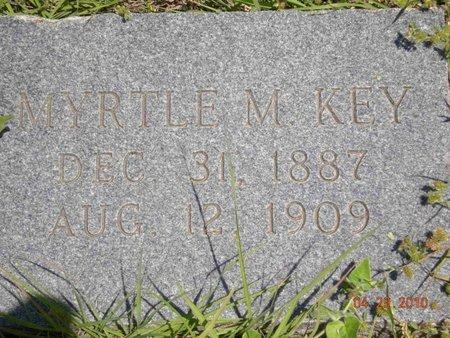 LILES KEY, MYRTLE M. - Eastland County, Texas   MYRTLE M. LILES KEY - Texas Gravestone Photos