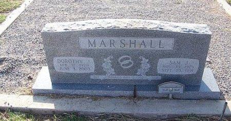MARSHALL, SAM J. - Eastland County, Texas | SAM J. MARSHALL - Texas Gravestone Photos