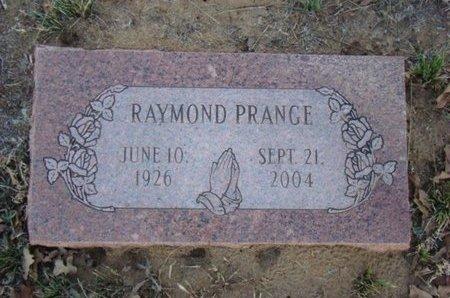 PRANGE, RAYMOND - Eastland County, Texas | RAYMOND PRANGE - Texas Gravestone Photos