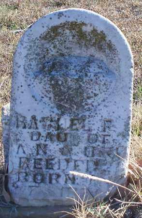 REEDER, RACHEL F - Eastland County, Texas | RACHEL F REEDER - Texas Gravestone Photos