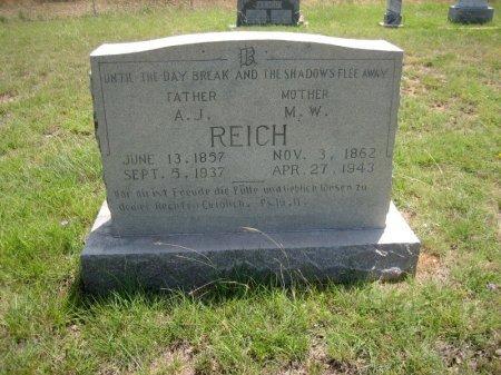 REICH, A. J. - Eastland County, Texas | A. J. REICH - Texas Gravestone Photos