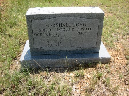REICH, MARSHALL JOHN - Eastland County, Texas   MARSHALL JOHN REICH - Texas Gravestone Photos