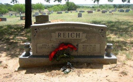 REICH, MARTIN O. - Eastland County, Texas | MARTIN O. REICH - Texas Gravestone Photos
