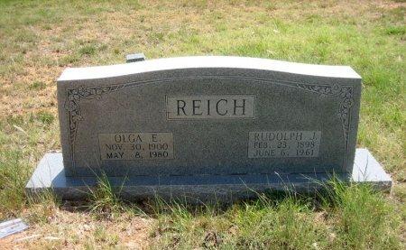 HIELSCHER REICH, OLGA - Eastland County, Texas | OLGA HIELSCHER REICH - Texas Gravestone Photos