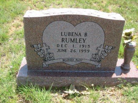 RUMLEY, LUBENA B. - Eastland County, Texas | LUBENA B. RUMLEY - Texas Gravestone Photos