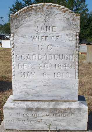 SCARBOROUGH, JANE - Eastland County, Texas | JANE SCARBOROUGH - Texas Gravestone Photos