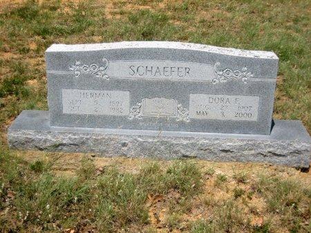 SCHAEFER, HERMAN - Eastland County, Texas   HERMAN SCHAEFER - Texas Gravestone Photos